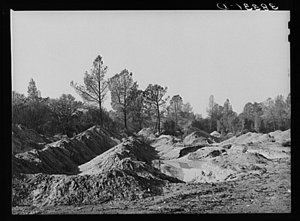 gold placer mine photo