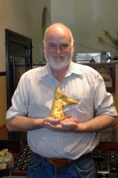 cordell holding 177 ounce gold nugget ballarat australia