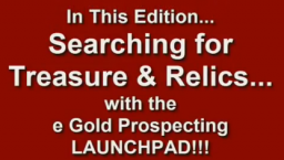 metal detecting, gold prospecting, location research