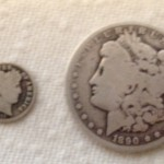 arkansas prospecting find morgan silver dollar