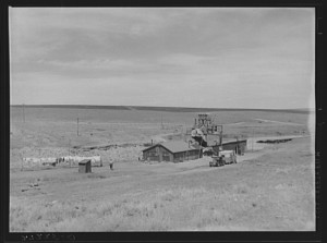gold mining camp in montana prairie